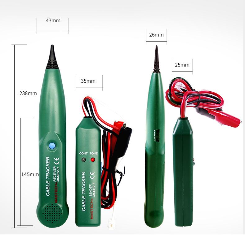 华仪 MS6812 电缆测试仪