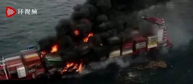 突发!集装箱船爆炸,浓烟滚滚插图2