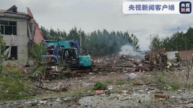黑龙江东宁市华晟公司办公楼发生爆炸 法定代表人已被限制高消费插图