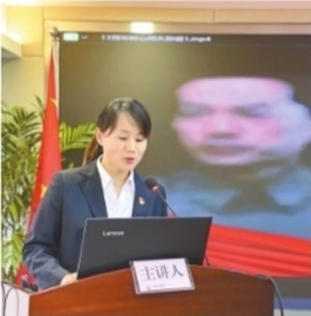武汉市民政局举办微党课竞赛插图